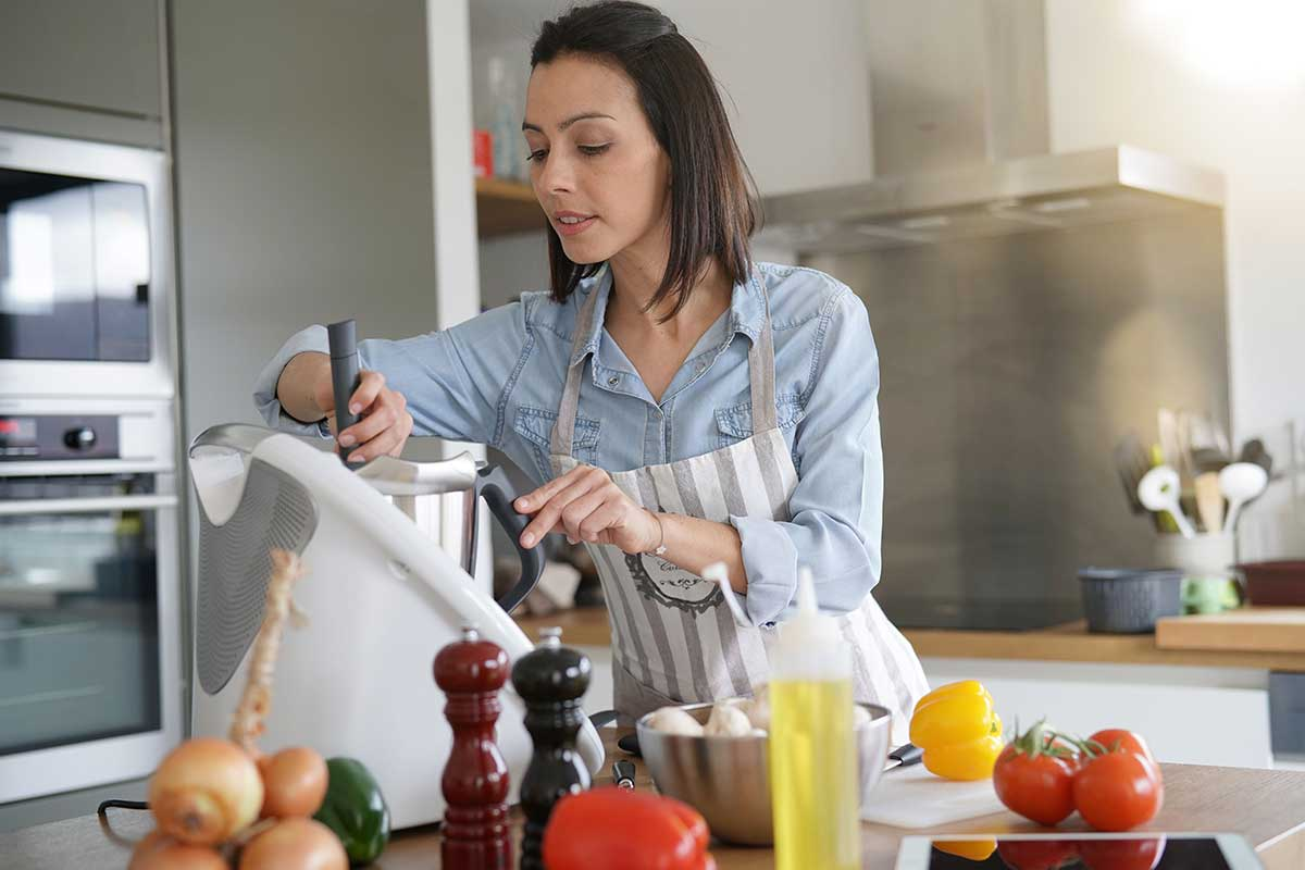 Torna-te um chef com estes robots de cozinha