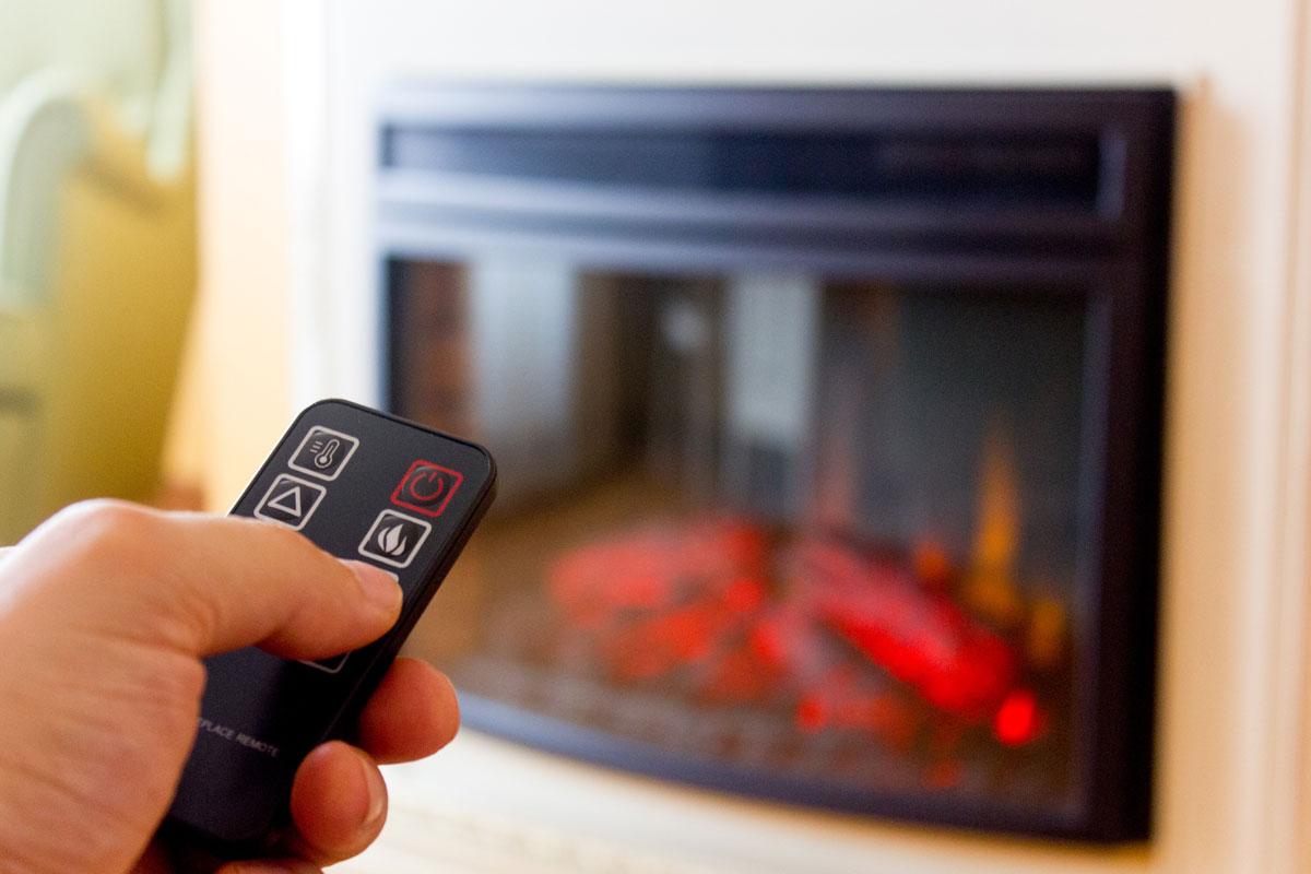 Lareiras elétricas: aquece a casa com estilo