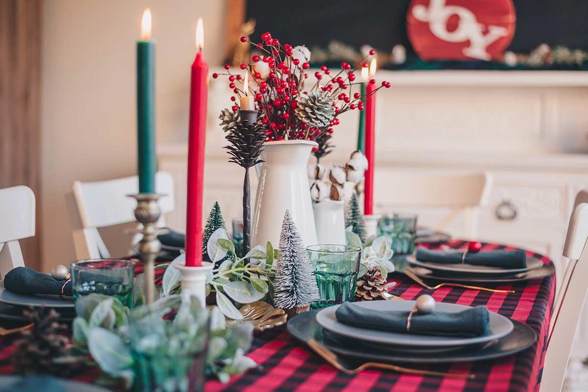 8 ideias para decorar a mesa de Natal