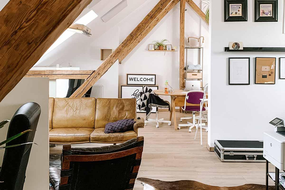 Decoração do sótão: ideias para aproveitar este espaço
