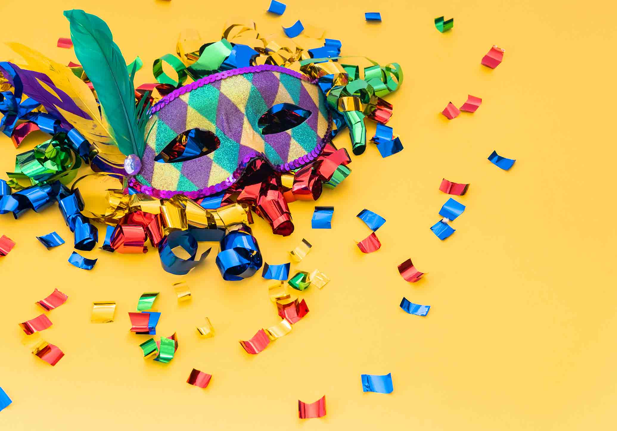 8 ideias de máscaras de Carnaval para os mais pequenos