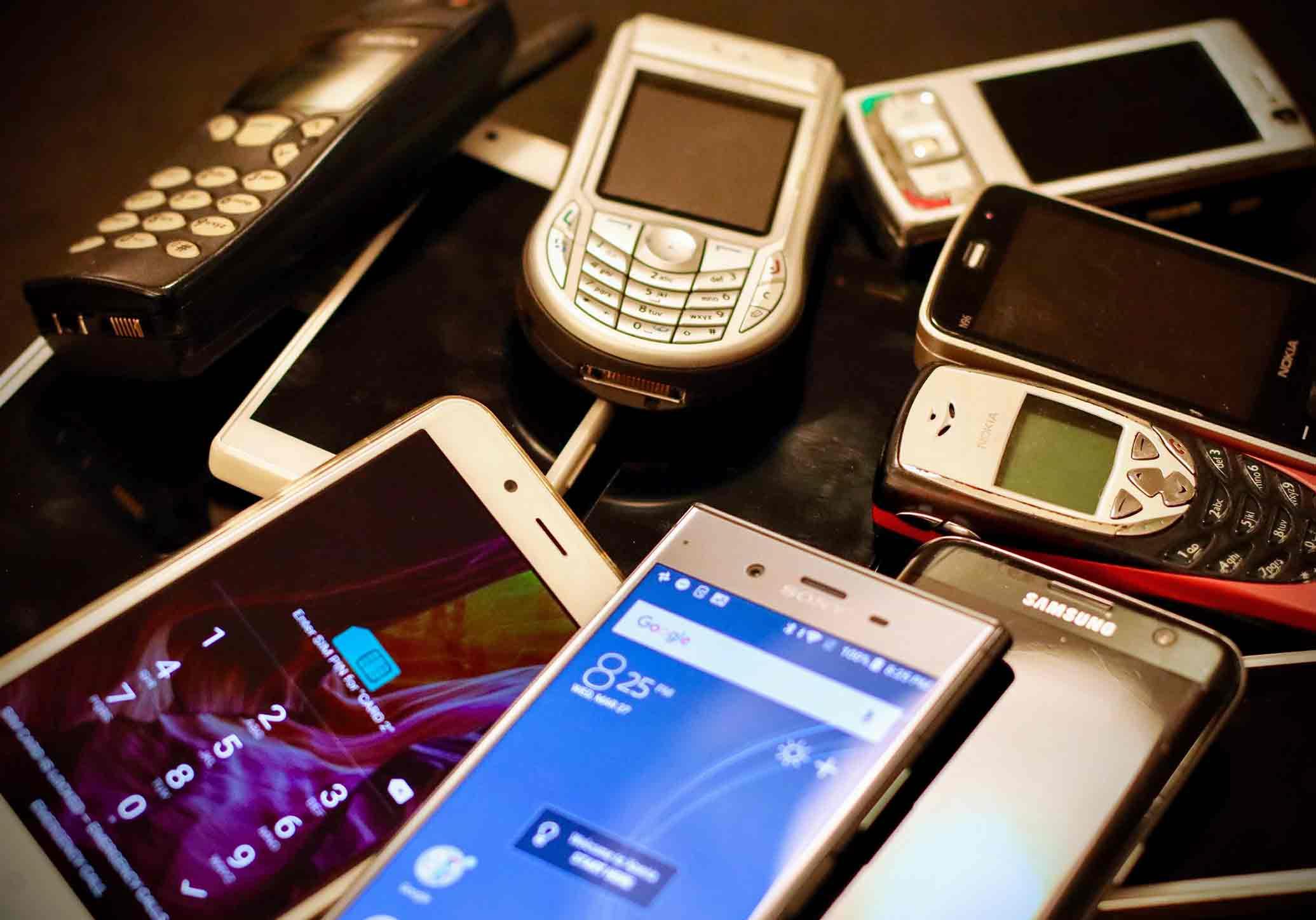 Quanto valem os teus telemóveis antigos?