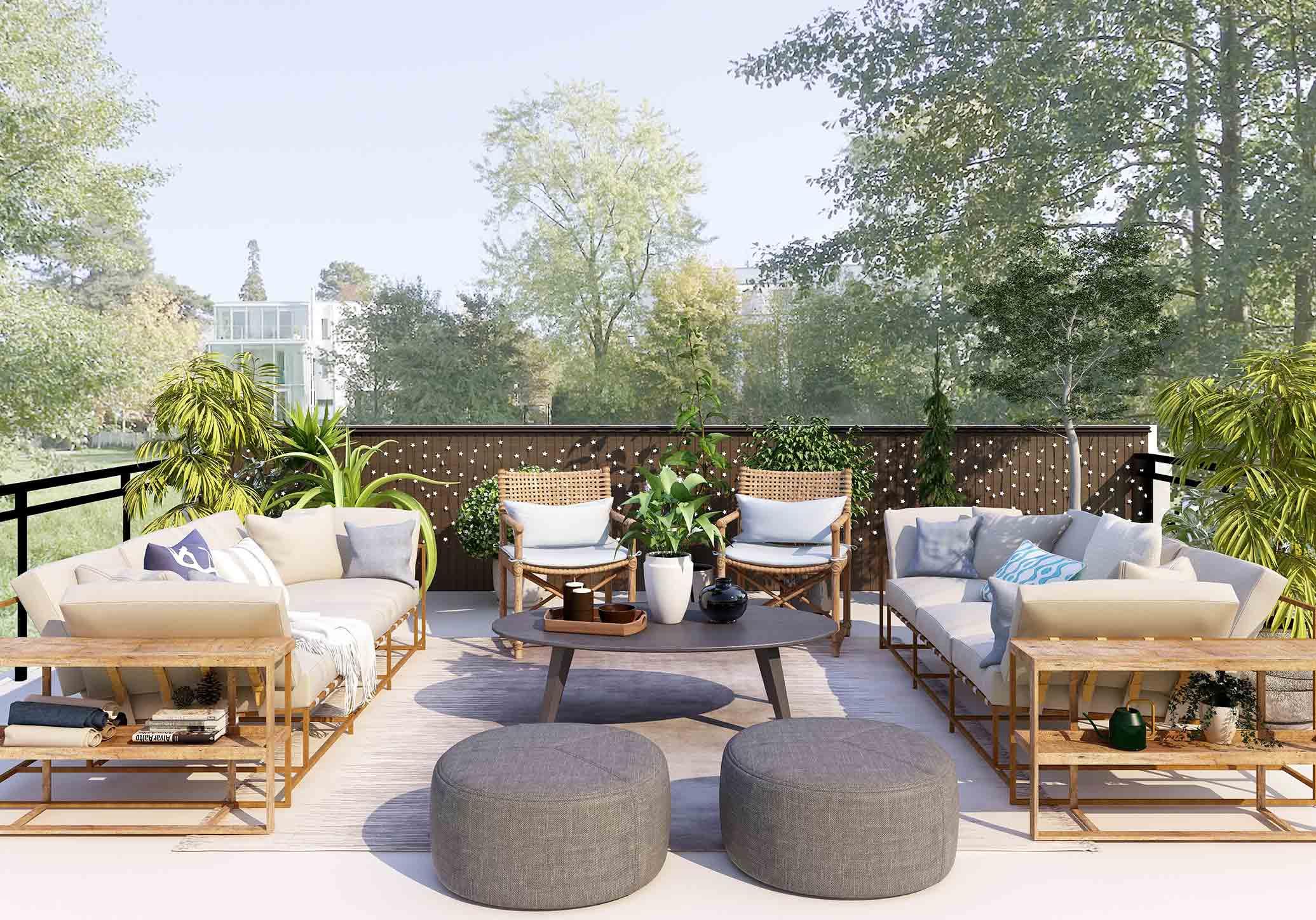 Móveis de jardim: renova a decoração de exterior com estas dicas