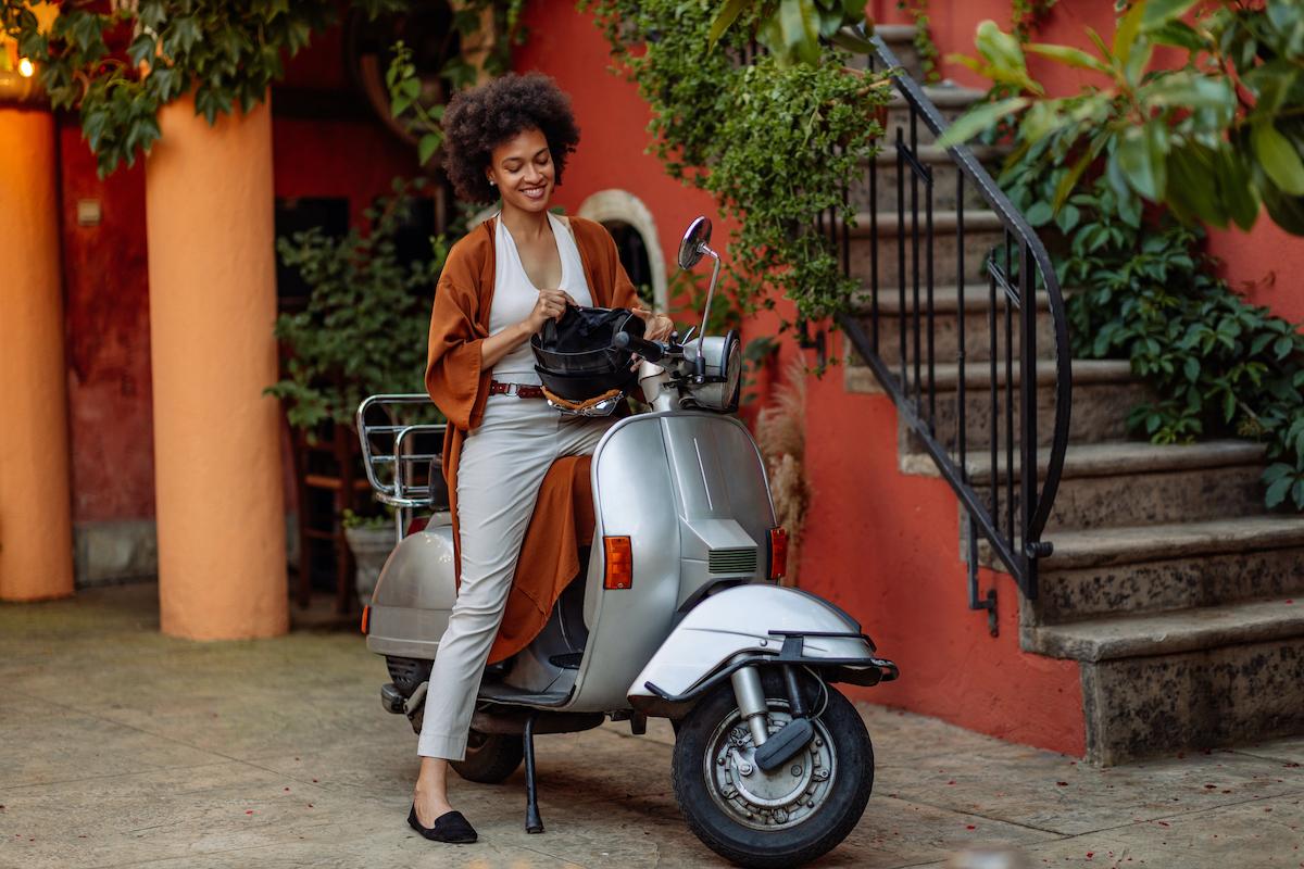 A partir de que idade podes conduzir uma moto?