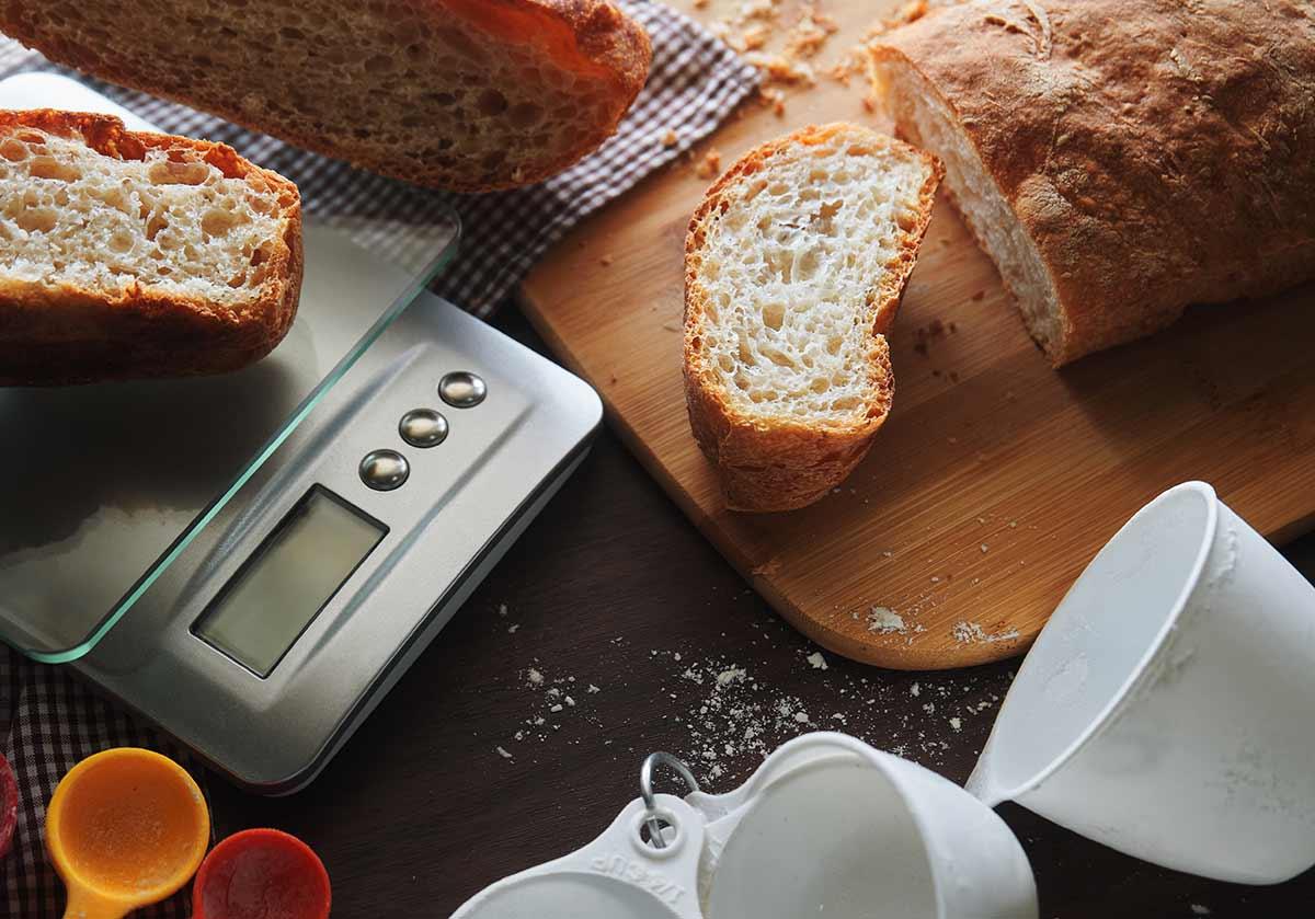 Guia de compra para balanças de cozinha