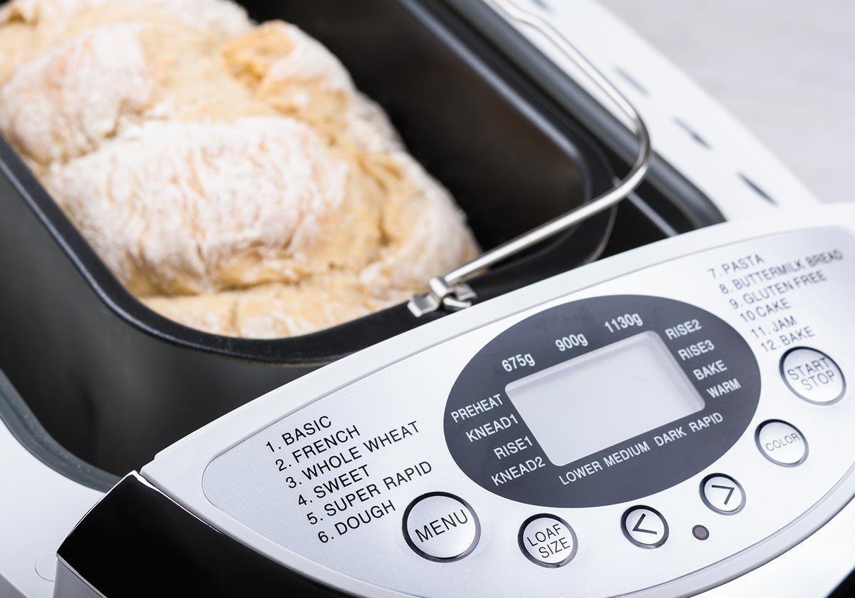 Máquinas de fazer pão: como escolher?