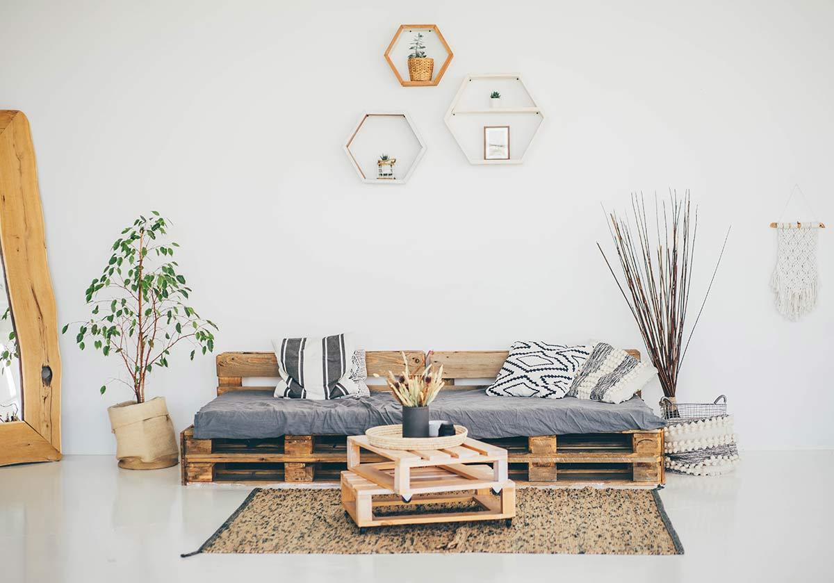 Móveis de paletes: ideias DIY para decoração